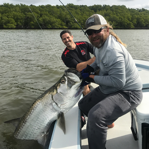 Everglades tarpon fishing
